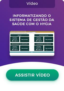 Hygia CTA Landing Page Sistema de Gestão da Saúde