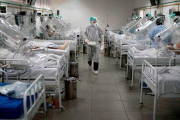 Taxa de ocupação hospitalar